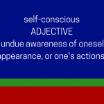 self-conscious dictionary definition