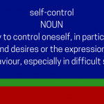 Self-Control dictionary definition