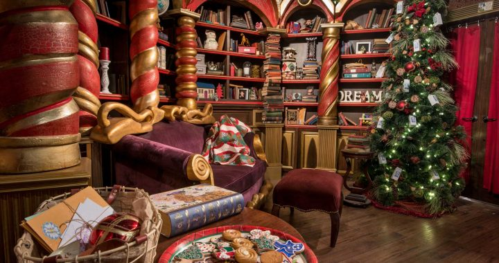 Welcome to santa's workshop little doll